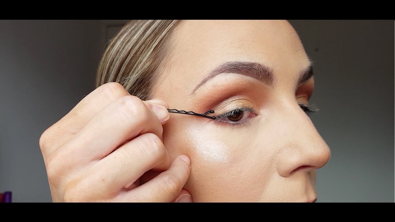 Image result for the perfect wing with bobby pins