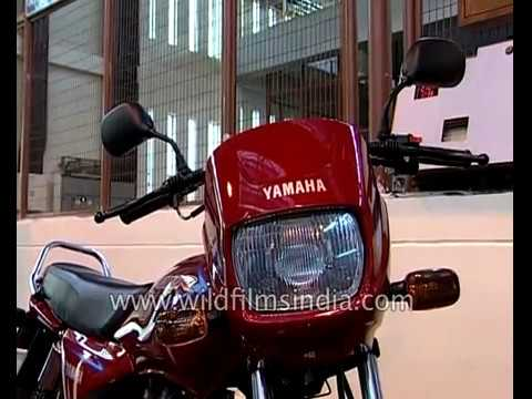 Yamaha Motor India Limited launches it\u0027s new bike Crux R - YouTube