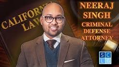 Orange County Criminal Defense Attorney Neeraj Singh