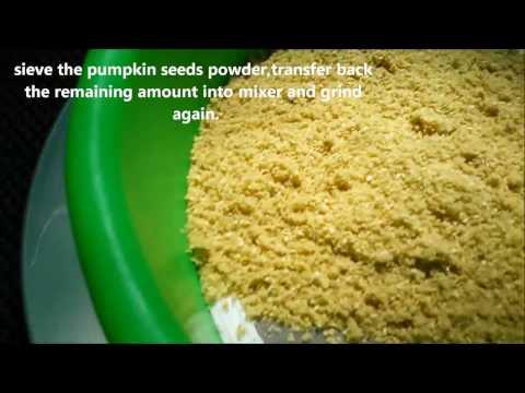 HOME MADE PUMPKIN SEEDS POWDER  / Protein Powder
