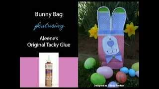 كيفية إنشاء الأرنب حقيبة باستخدام Aleene الأصلي مبتذل الغراء
