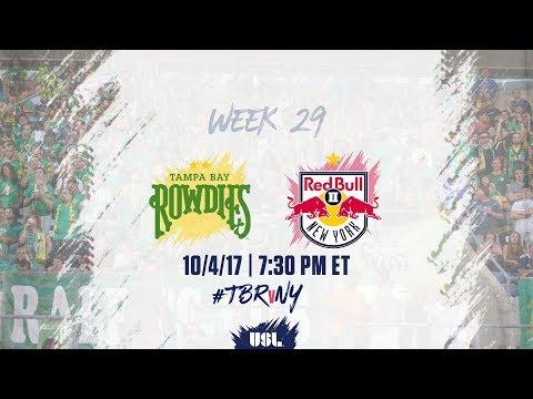 USL LIVE - Tampa Bay Rowdies vs New York Red Bulls II 10/4/17