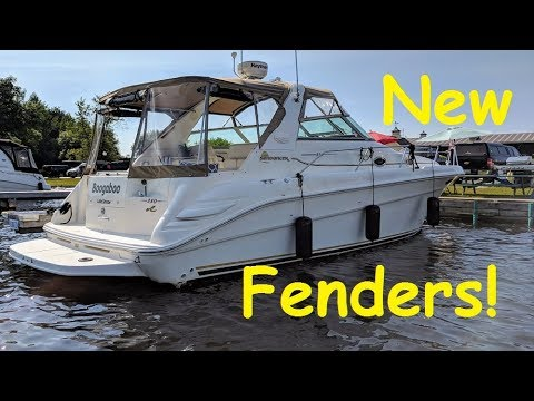 Boat Fenders Installation How To