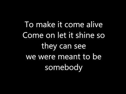 Somebody - Lemonade Mouth (Lyrics)