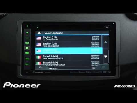 AVIC 5000NEX Navigation - Pioneer