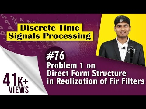 Problem 1 on Direct Form Structure  in...