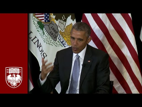 President Obama at Law School: Constitutional questions facing nation