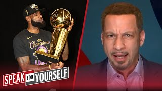 LeBron has to 3-peat to be eye-to-eye with MJ - Broussard | NBA | SPEAK FOR YOURSELF