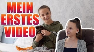 Mein erstes Video auf YouTube, Reaction - Celina