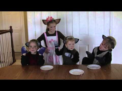 Three Little Kittens Story And Nursery Rhyme Amazing So Cute Youtube