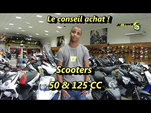 Le conseil d'achat avec Steeve : scooters 50cc et 125cc !