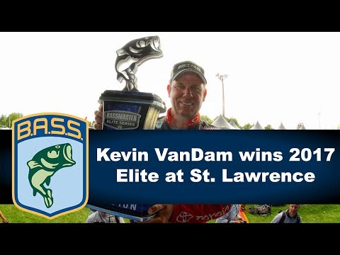 Kevin VanDam wins 24th B.A.S.S. tournament on St. Lawrence River