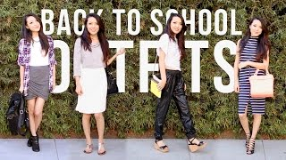BACK TO SCHOOL Outfit Ideas Thumbnail