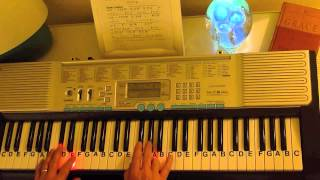 How to Play ~ My Heart Will Go On - Key E ~ From Titanic (Celine Dion) ~ LetterNotePlayer ©