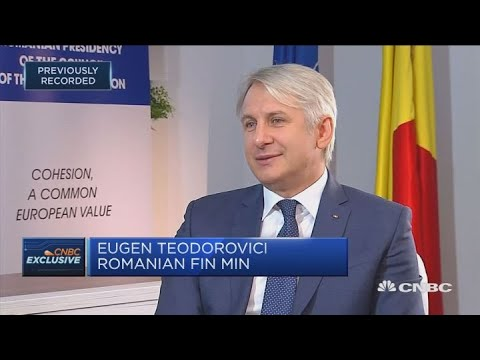 Romania committed to joining euro zone, finance minister says | Squawk Box Europe