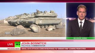Israel strikes Syrian army near Golan Heights in 2nd incident in 2 days thumbnail