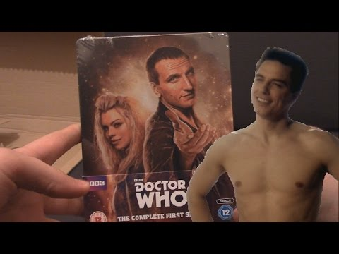 SEXY UNBOXING! -  Doctor Who Series 1 Steelbook