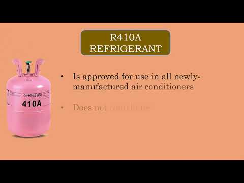 Difference Between R22 And R410a Refigerant