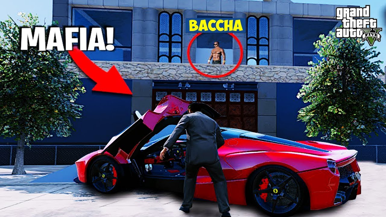 GTA 5 - THE BIG MAFIA STOLE MY $800,000 FERRARI  I GTA V GAMEPLAY #13    (HINDI) BACCHA YADAV GTA 5
