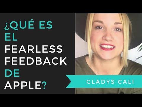 Fearless Feedback Apple  - Gladys Cali