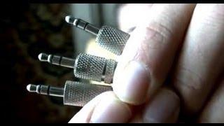 Таңдау дұрыс штекера jack 3,5 мм