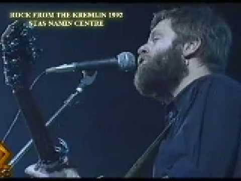 «Rock From Kremlin» first time in Kremlin forbidden Russian rock-stars. Namin Centre. 1992