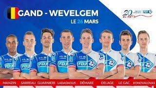 Compo de l'équipe FDJ pour Gand-Wevelgem