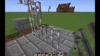 Minecraft piston operated Portcullis door! - 100% tested to work on both Xbox and PC