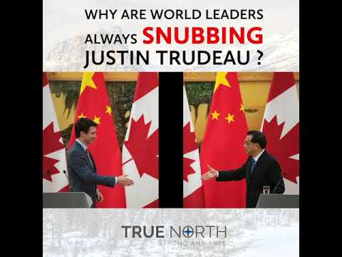 Why are world leaders always snubbing Justin Trudeau?