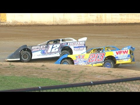 RUSH Crate Late Model Heat One at Stateline Speedway (Busti, NY) on Saturday, August 31st, 2019! Stateline Speedway: http://newstatelinespeedway.com. - dirt track racing video image
