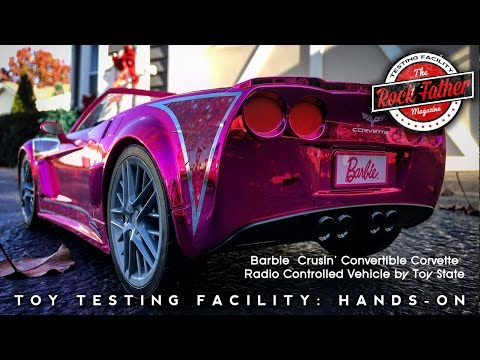 """Hands-on: Barbie Cruisin' Convertible Corvette Radio Controlled Car (Toys """"R"""" Us Exclusive)"""