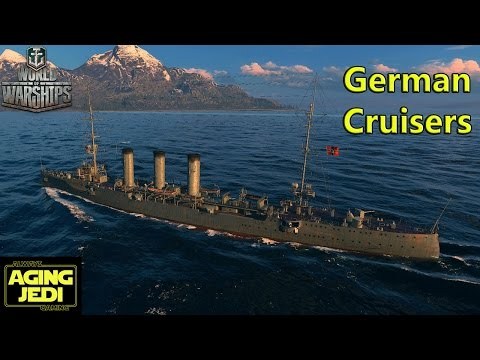 "German Cruisers Preview: Dresden & Kolberg ""Rapid Fire!"" - World of Warships"