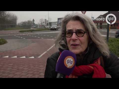 Rotonde met 105 verkeersborden in Culemborg