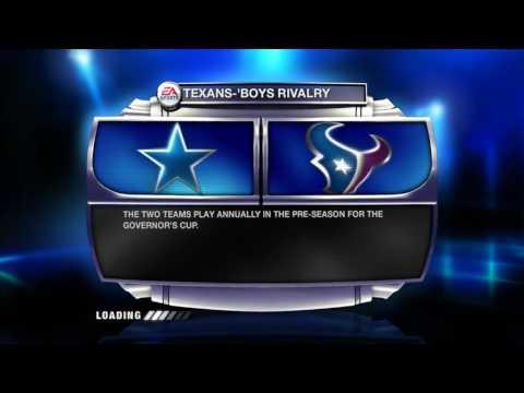 Madden NFL 09 Presentation Stadium History  Houston Texans Reliant Stadium