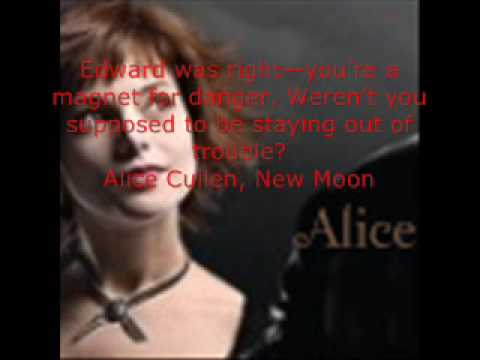 alice cullen quotes youtube