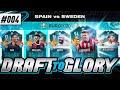 SPAIN VS SWEDEN - EUROS DRAFT CHALLENGE!!! - #FIFA21 - ULTIMATE TEAM DRAFT TO GLORY #04