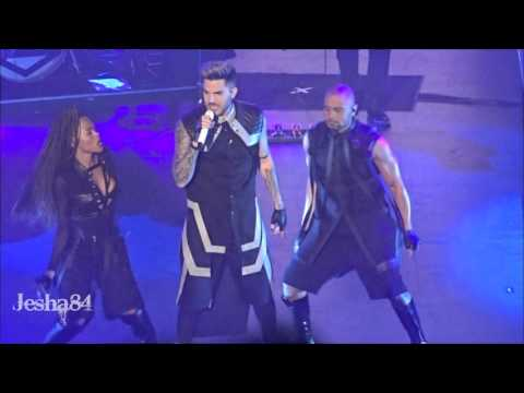 Adam Lambert - For Your Entertainment - New Brunswick, NJ 3/1/16