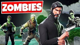 Fortnite: ZOMBIES ÜBERALL!! | Zombie Parkour