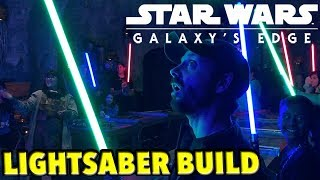 Building My Lightsaber in Galaxy's Edge at Savi's Workshop