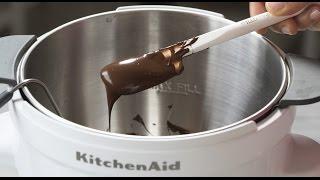 Tempering Chocolate Using KitchenAid Precise Heat Mixing Bowl