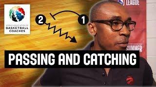 Passing and Catching the Ball - Patrick Mutombo - Basketball Fundamentals