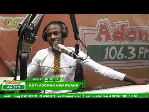 Kasiebo Is Naket With Kofi Adomah Nwanwanii And Obiri Yeboah Fentemfrem