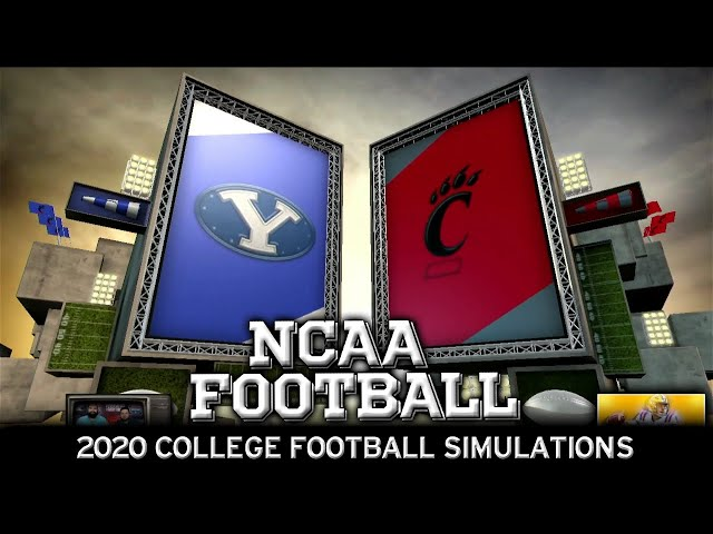 BYU vs Cincinnati 2020 NCAA Football Simulation