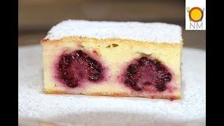 Наконец то рецепт идеальной творожной запеканки с ягодами! Вкуснятина!!!!!Теперь готовлю только так!
