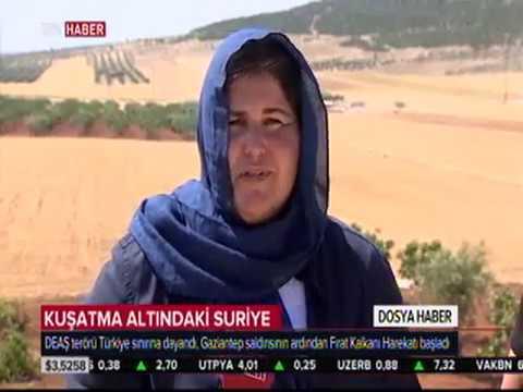 Suriye TRT HABER Elif AKKUŞ İsmail Hakkı DOSTOĞLU
