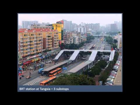 Webinar: Planning, design, implementation and operation of the Yichang BRT corridor...