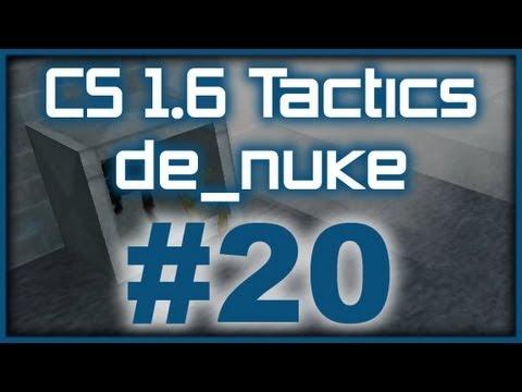 CS 1.6 Tactics #20 ESC Gaming de_nuke pistol round (T Side)