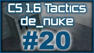CS 1.6 Tactics #20 ESC Gaming de_nuke pistol round (T Side)