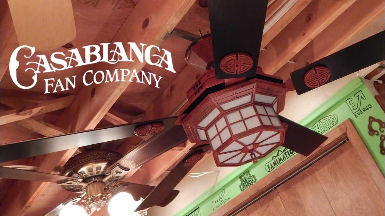 Casablanca cathay ceiling fan youtube aloadofball Choice Image