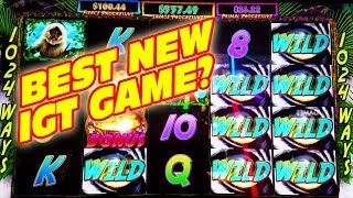 THE BEST NEW SLOT GAME IGT HAS PUT OUT IN A WHILE???